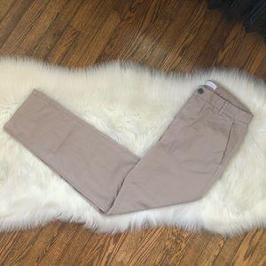 Everlane Women's Straight Leg Tan Khaki Pants
